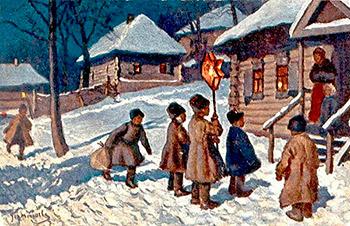 Старые рождественские традиции