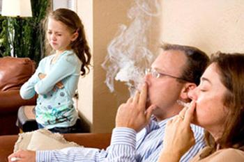 Родители курят