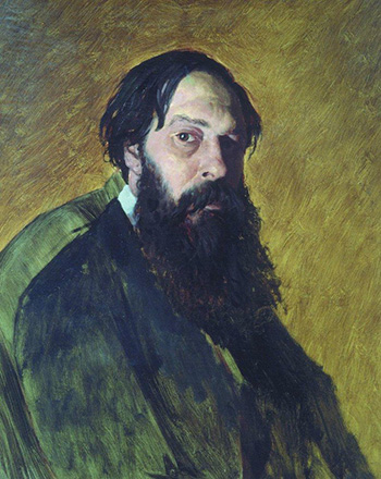 Саврасов. Портрет Перова
