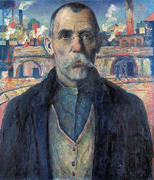 портрет ударника