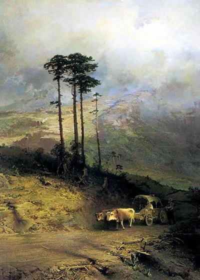 В Крымских горах