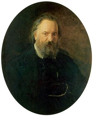 Портрет писателя А. И. Герцена