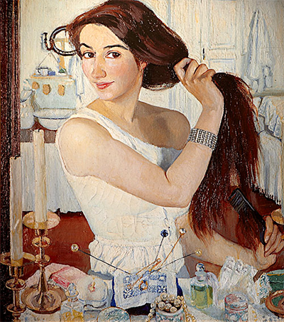 Зинаида Серебрякова Автопортрет За туалетом