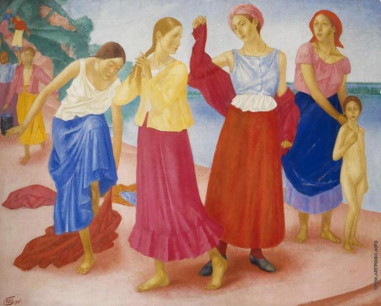 Девушки на Волге» (1915)