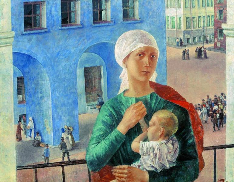 «Петроградская мадонна» (1920)