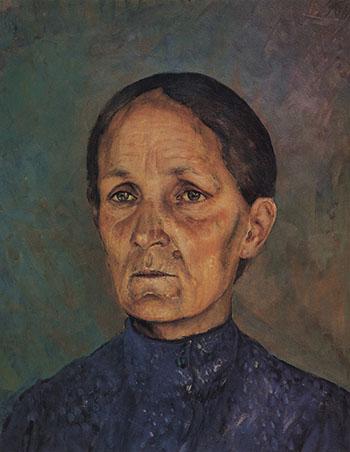 портрет матери художника Анны Пантелеевны Петровой-Водкиной