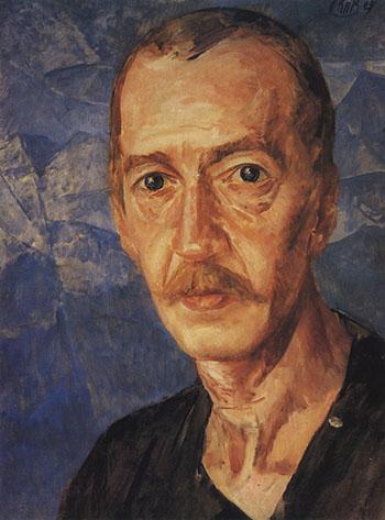 портрет писателя С. Д. Мстиславского