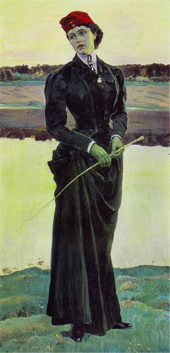 Портрет О. М. Нестеровой (1906) или «Амазонка» (1906)