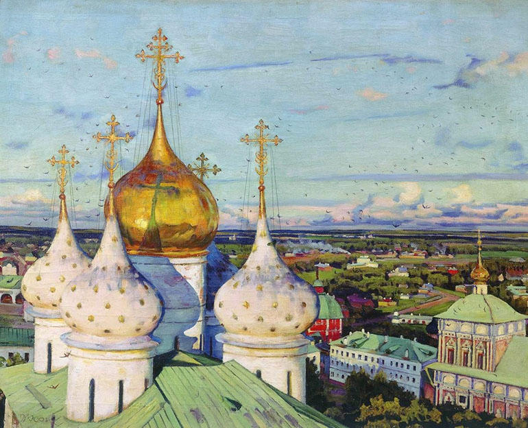 «Купола и ласточки» (1921)