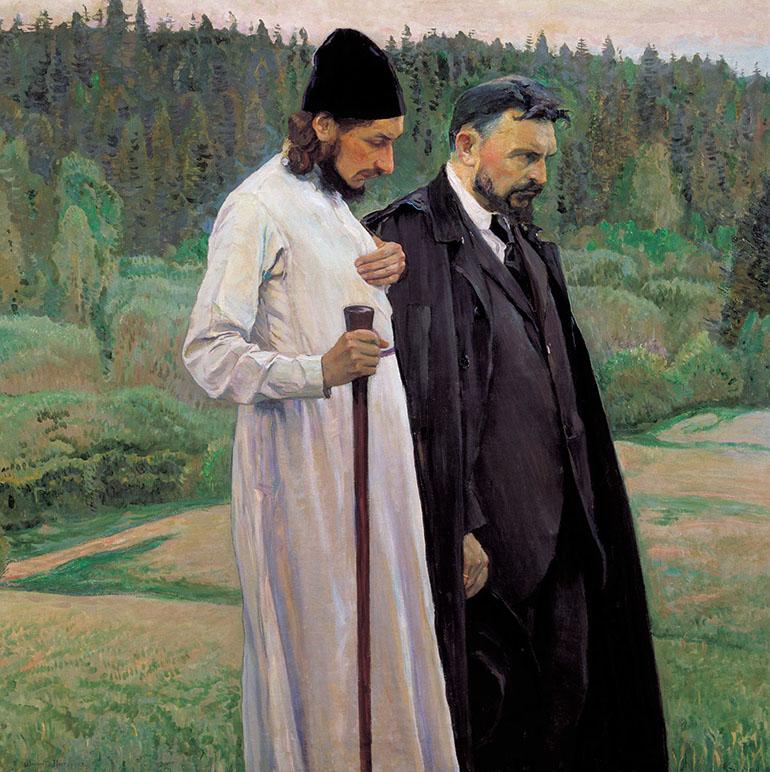 «Философы (С. Н. Булгаков и П. А. Флоренский) (1917)