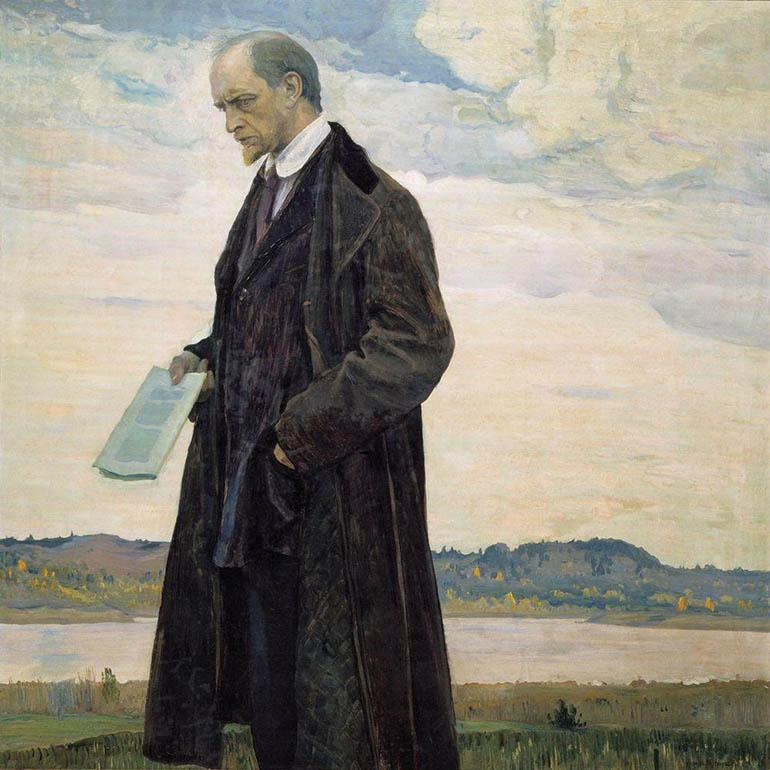 «Портрет философа И. А. Ильина» (1921-1922)