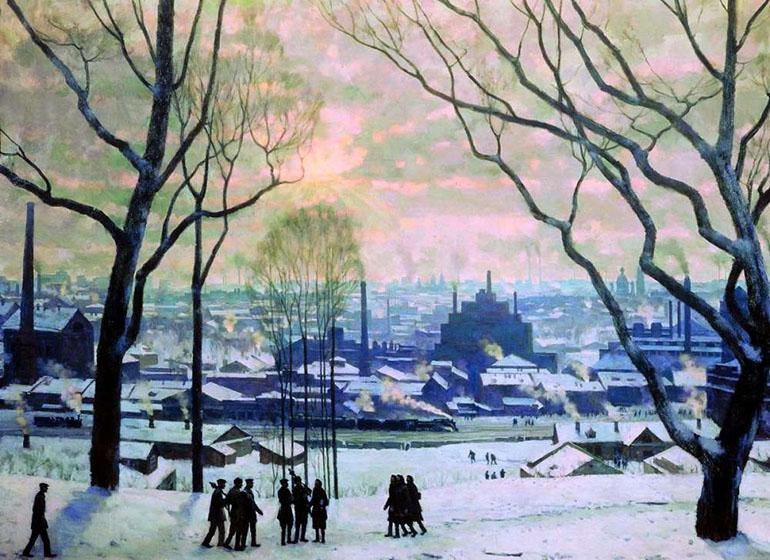 «Утро индустриальной Москвы» (1949)