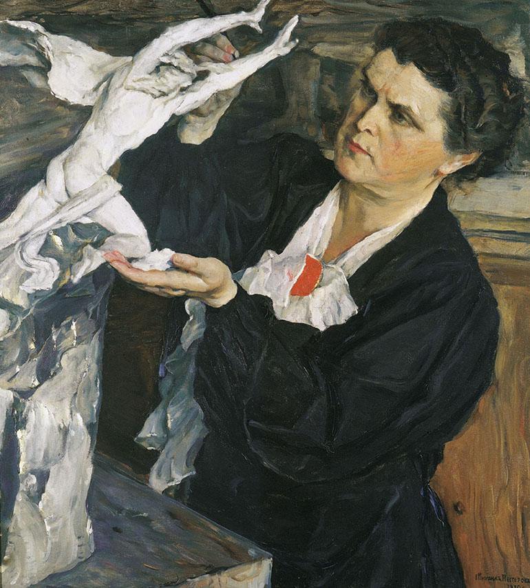 портрет В. И. Мухиной