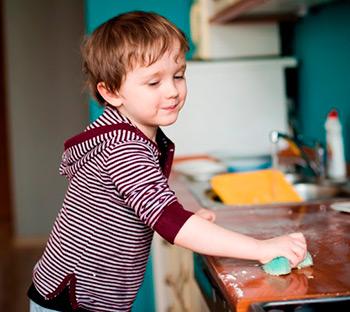 Как приучить сына к порядку в доме
