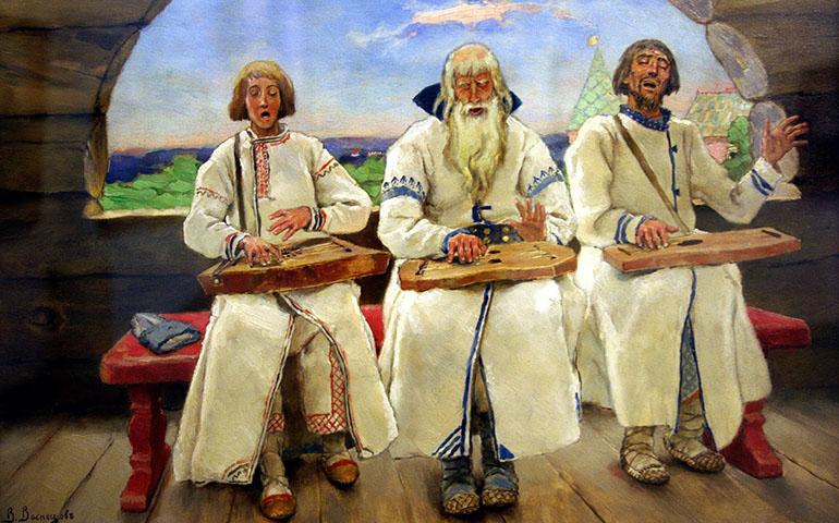 Виктор Васнецов. Гусляры. 1899