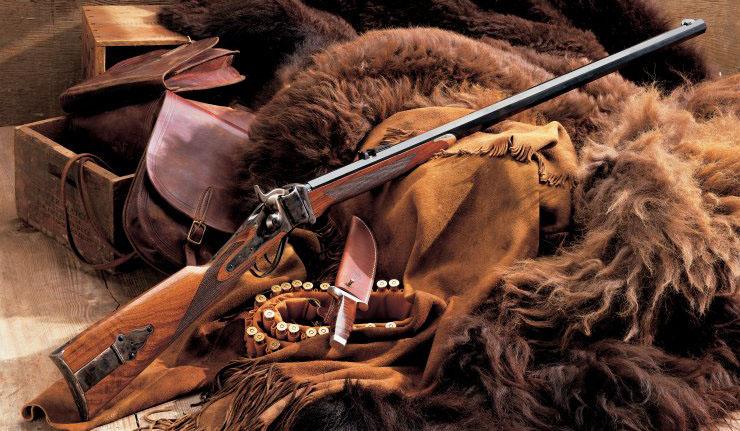 у Робинзона появились рабочие инструменты и ружье