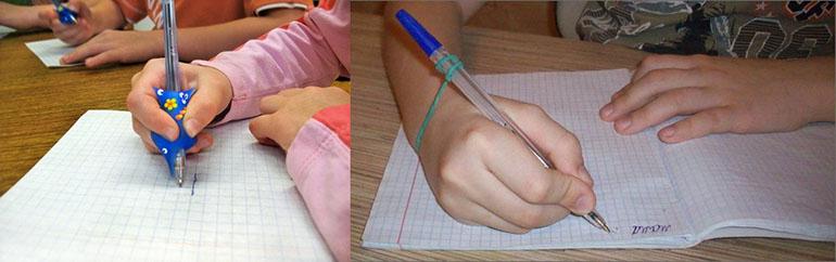 Как научить ребенка правильно держать ручку