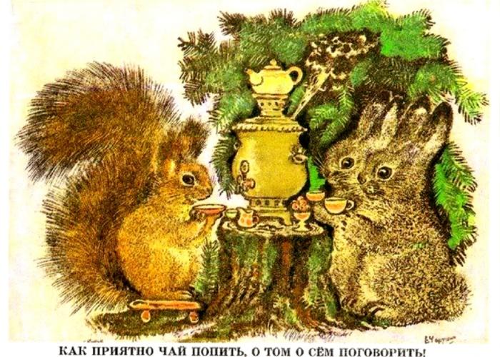 Рисунок Е. И. Чарушина