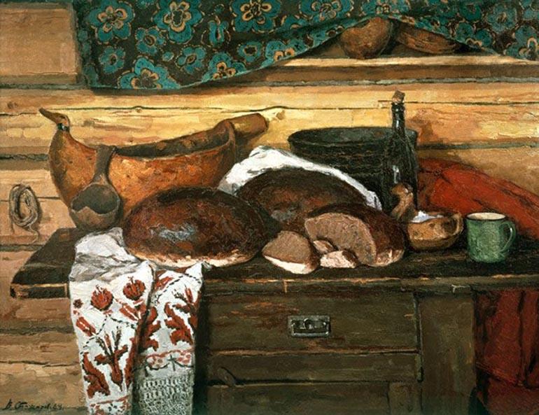 В. Ф. Стожаров «Хлеб, соль и братина»