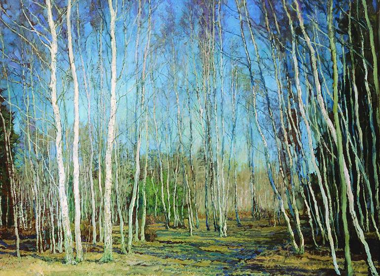 В. Н. Бакшеев «Весна»